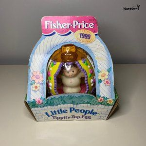 Vintage 1999 Little People Easter Egg